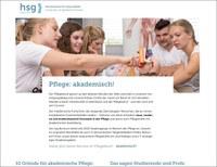 12. Mai 2020: Virtueller Pflege-Infotag der hsg Bochum