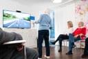 AOK stattet 50 Pflegeeinrichtungen mit therapeutischen Videospielen aus