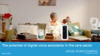 Was können Sprachassistenten in der Pflege leisten?