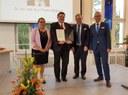 Franz Wagner auf Fakultätsfest ausgezeichnet