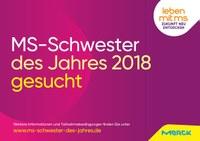 """Merck sucht """"MS-Schwester des Jahres"""""""