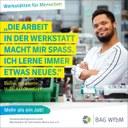 """Kampagne: Werkstätten für behinderte Menschen bieten """"Mehr als einen Job"""""""